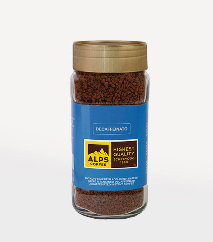 Instant coffee DECAFFEINATO